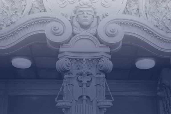Fassade Justizgebäude - bildlich Studienplatzklage Medizin